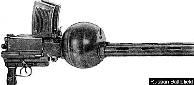 6.5mm coupled machine-gun Fedorov-Ivanov Model 1925